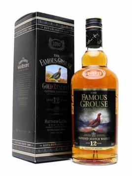 The Famous Grouse Scotch Gold Reserve